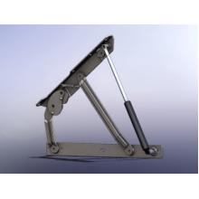 Механизам за база (амортизер) со заклучување GM303  БЕЗ АМОРТИЗЕР