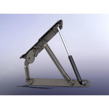 Механизам за база со амортизер и заклучување GM303  Комплет со амортизер 450 / 750N / 1200N / 1500N